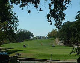 Scenic View of Golf Hole